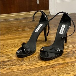 Strapped heels, only worn once!